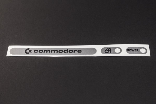 "C64 ""Silver Label"" Sticker"