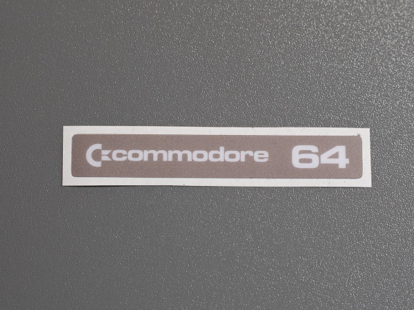 "C64C Label Commodore ""Original"" Aufkleber"